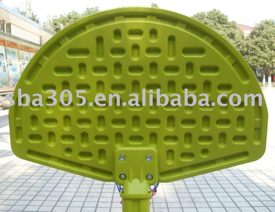 mini de color personalizado de plástico de baloncesto stand para los niños