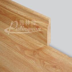 Wood color & range base board for cork flooring