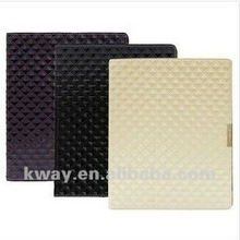 HOT! High Quality Diamond Style Leather Case Back Cover Case Stand for iPad 2 3 4 KSH014