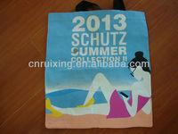 pp non woven beach bag pattern