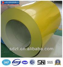 prepainted steel coil galvanized /PPGI manufacturer