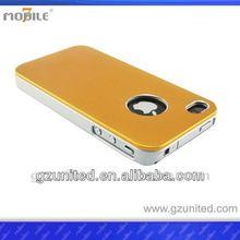 Mobile7 case for iphone 4s4g bumper dual color case