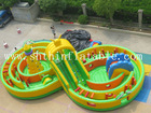 giant Inflatable Slides / durable pvc inflatable playground slide