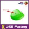 Promotional 16GB heart shape flash memory usb
