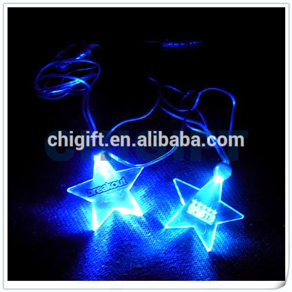 2015 Battery Powered Flashing LED Necklace