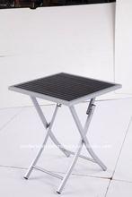 Garden furniture Cheap plastic wood folding table