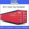 Tarpaulins open top containers