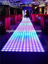 60x60cm led dance floor,wedding led floor tiles, light up floor