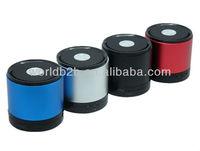 Portable Metal Bluetooth Wireless 3W Mini Speaker with Handsfree Mic