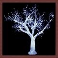 2013 nuevo producto del árbol de navidad de la cereza con fuente de luz led de árboles 2m