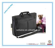 hot sale classical portable holding shoulder laptop bags for men
