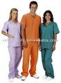 Médico esfrega hospitalares terno uniforme enfermeira do hospital projetos uniformes