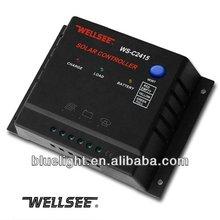 Wellsee pwm solar controlador de carga 12 v 24 v 15amp WS-C2415
