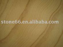 Sandstone Cubestone Yellow Wooden Wave