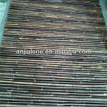 black bamboo fence /garden bamboo fence/bamboo fence
