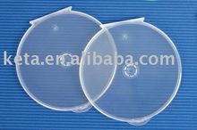 Portable Super Slim Clear CD DVD Clam Shell Case