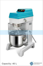 Commercial Cake Mixers - B40L CE Approval Four Speeds Commercial Use Food Mixer