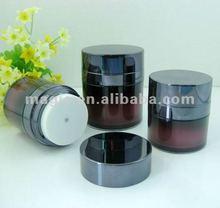 15ml 30ml 50ml Airless Pump Jar Plastic Airless Cream Jar