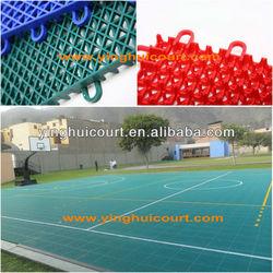 Interlocking Outdoor Basketball Flooring O-01
