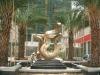 outdoor bronze fountain sculpture (pure handmade) copper garden art sculpture