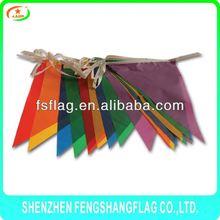 colourful decorate Halloween flag