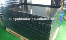 best price 250W30V black frame/ PET back mono solar panel