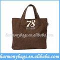 shopping cotone liscio borsa donna a buon mercato