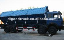 North Benz Heavy-duty loading 8*4 tipper truck/dump truck rollover dump truck