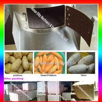 potato chip peeling and slicing machine
