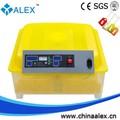 top venda recém design automática cheia mini ovos de incubação incubadora 48 ovos para venda