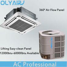 Olyair 60000Btu cassette air conditioner, air condition, solar air conditioner