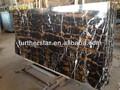 pakistano nero e oro mattonelle di marmo