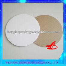 12inch white roud waxed single wall cake circles