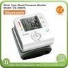 Hot sale bluetooth digital wrist blood pressure monitor