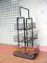 2014 new free standing dolls display shelf