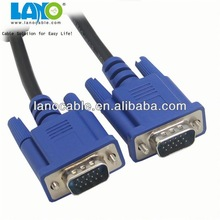 high speed 15 pin d sub rgb vga cable with good quality