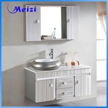 Luxury metal wall mounted bathroom cabinet
