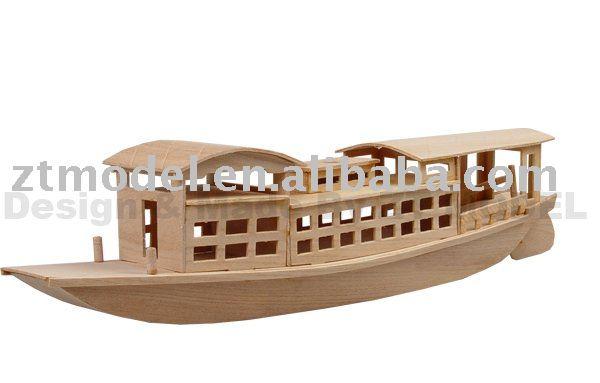Madera barcos modelo