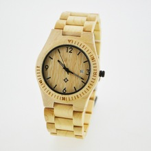 Hot sale design Eco-friendly handmade wooden watch for men and women with ultrathin case and band, Japan movt, 3ATM waterproof