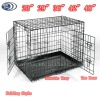 "23"" 30"" 36"" 42"" 48"" Folding Wire Pet Cage Dog Cage Dog Crate"