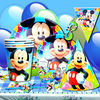 Happy birthday cards-Mickey Mouse invitation card