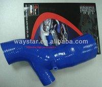 blue Silicone turbo intake hose for EVO 4-6 air intake