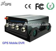 Hot Sale CCTV 4CH GPS(google map) super cctv dvr
