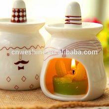 Christmas Gift home decoration romatic ceramic fragrance lamp