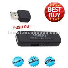 2012 Bestsell Digital Voice Recorder Button 8GB with Li-battery,VOR/VAR