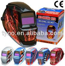 Auto darkening welding helmet en379
