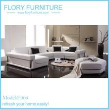 2015 white big corner sofa F903