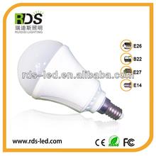 100-240V Factory wholesale 7w high lumen 580-630lm led dome light bulb