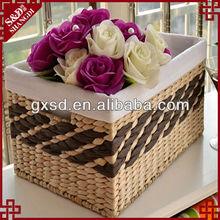 water hyacinth handmade rattan storage box