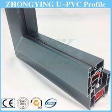 ZHONGYING customizable size pvc garage door window frame